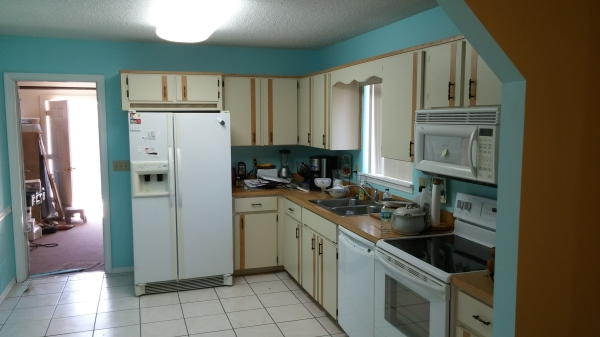 Kitchens, cabinets